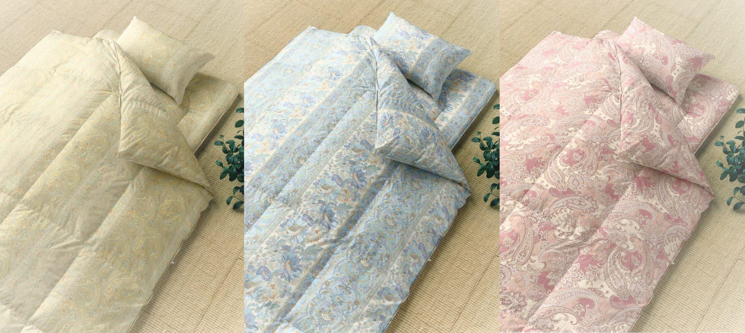 日本製生地 羽毛・羊毛